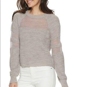 Women's Jennifer Lopez Balloon Sleeve Sweater, XL